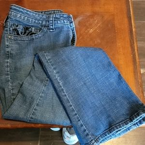 Lee Straight Leg Jeans - Size 16 Short